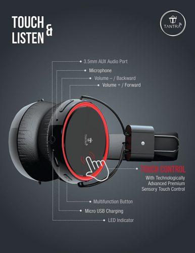 Tantra Blaster headphones