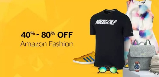 Amazon great India sale fashion products