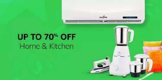 Amazon great India sale home and kitchen products