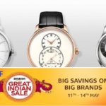 Amazon Great Indian Sale: Top five under Rs.1000  men watches after 50% plus discounts.