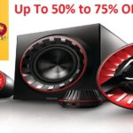 Amazon Great Indian Sale: Top five Multimedia speakers with over 50% discounts.