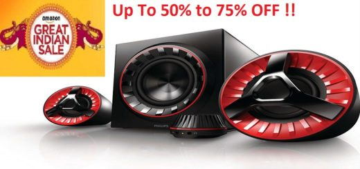 Speaker deal on Amazon great Indian Sale