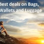 Amazon India: Top five most discounted deals on Bags, Wallets and Luggage for this week.