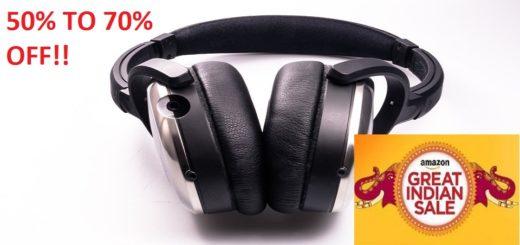 On ear headphone on Amazon Great Indian Sale
