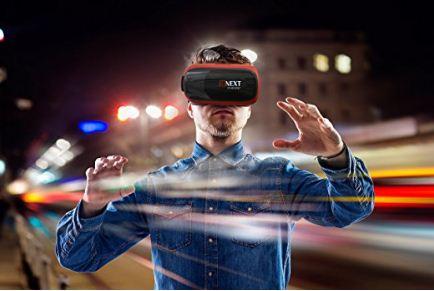 virtual reality headset experience
