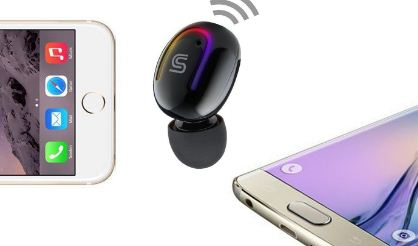 Chsmonb earbud connection with two devices
