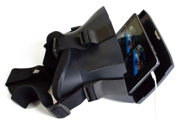virtual reality headset from IncediSonic