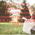 8 Must have Mechanical Engineering competition books( RRB SSE, JE, SSC JE, PSU)