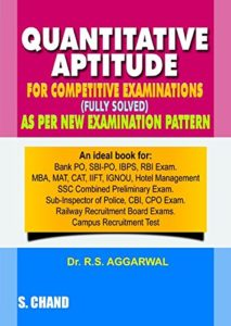 quantative apptitude book by rs aggarwal